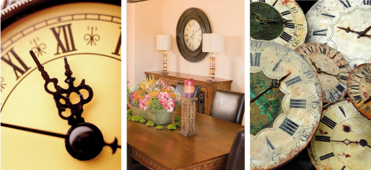 Decorating With Clocks: Classic Piece Stands Test of Time