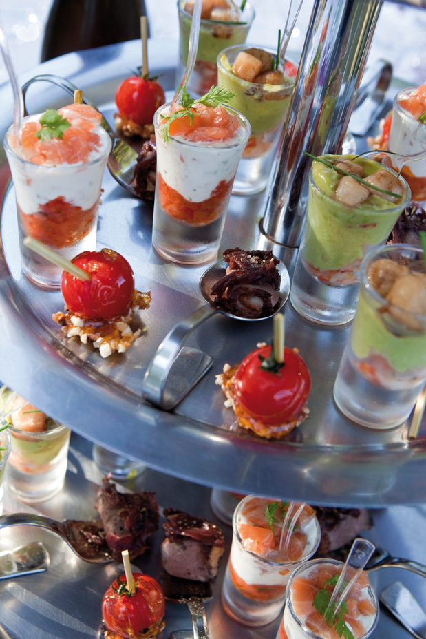 Food Stations: Mix and Mingle with New Ideas for Buffets