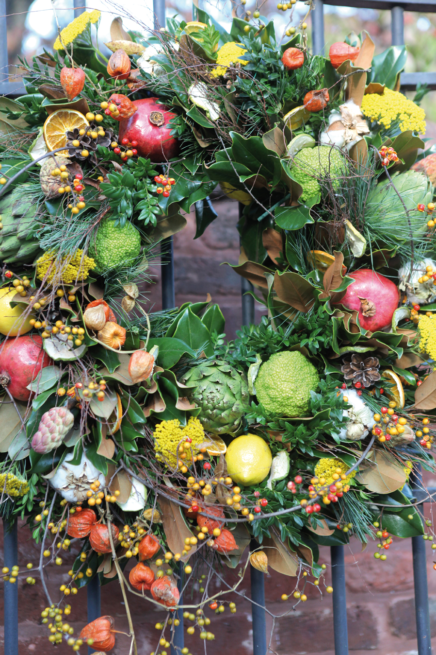 Wreathed in Seasonal Splendor: Create Your Own Wreath with Nature's Treasures