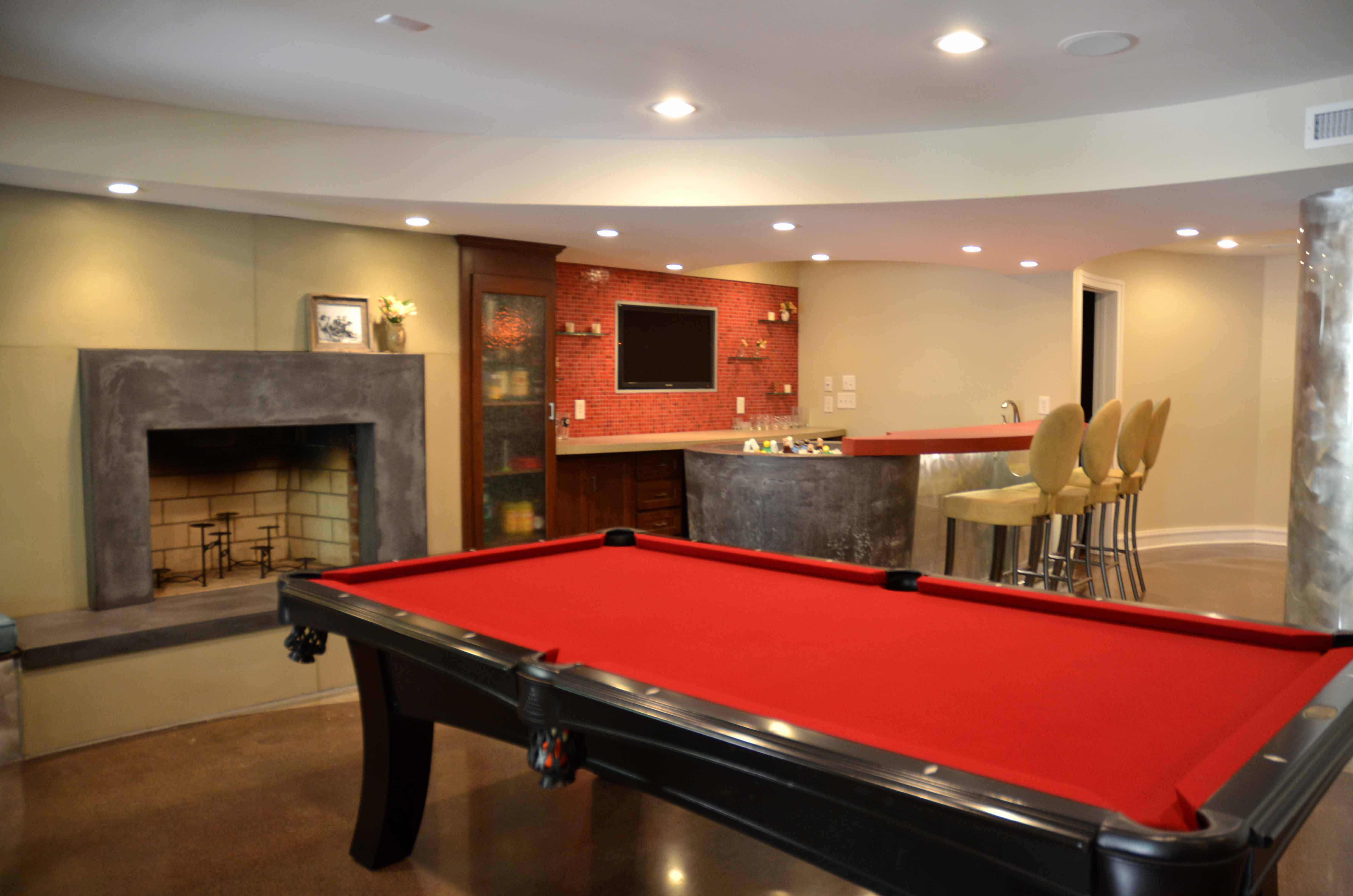 Fun functional basements make the most of below ground space central virginia home magazine - Cool basement ideas for kids ...