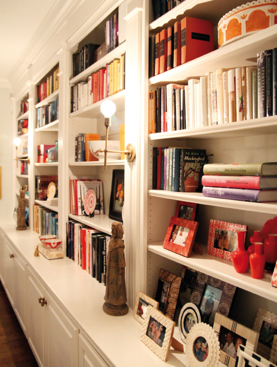 The Cleverly Arranged Bookcase