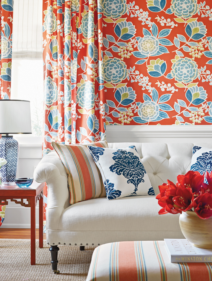 Embellished Wall Coverings: They're Not Your Grandma's Patterns Anymore