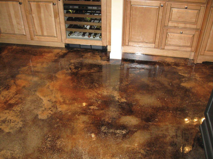 Colored Interior Concrete Floor : Concrete enhancement how to warm and brighten those cold