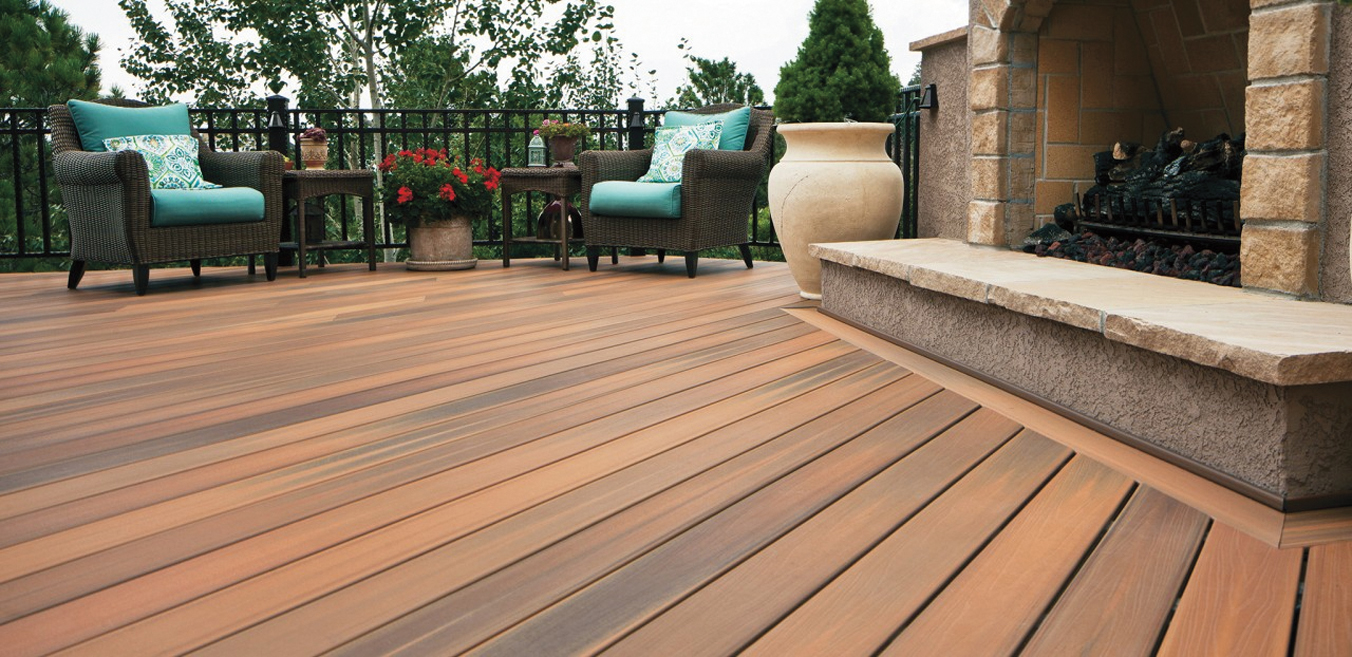 Durable decking materials central virginia home magazine composite baanklon Image collections