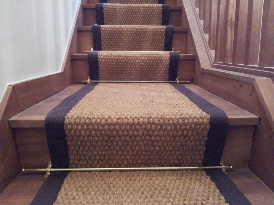 Modern Stair Runner Rods: Stairways That Rise To The Occasion: A Stairway Remodel