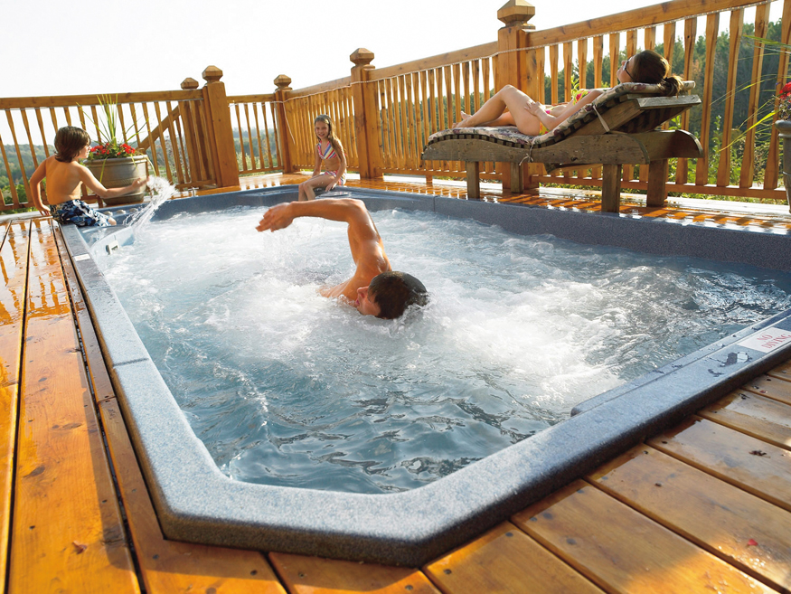 Water Water Everywhere Find Your ahhh in Hot Tubs and Swim
