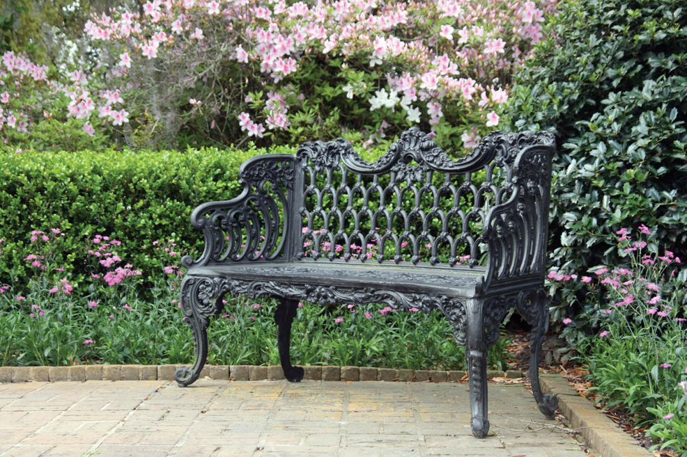 Sitting Pretty: Garden Benches Provide Front-Row Seats For Spring's Premiere