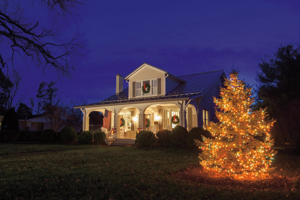 A Cheerful House: Festive, Friendly, Boonsboro Bungalow Decorated for the Season