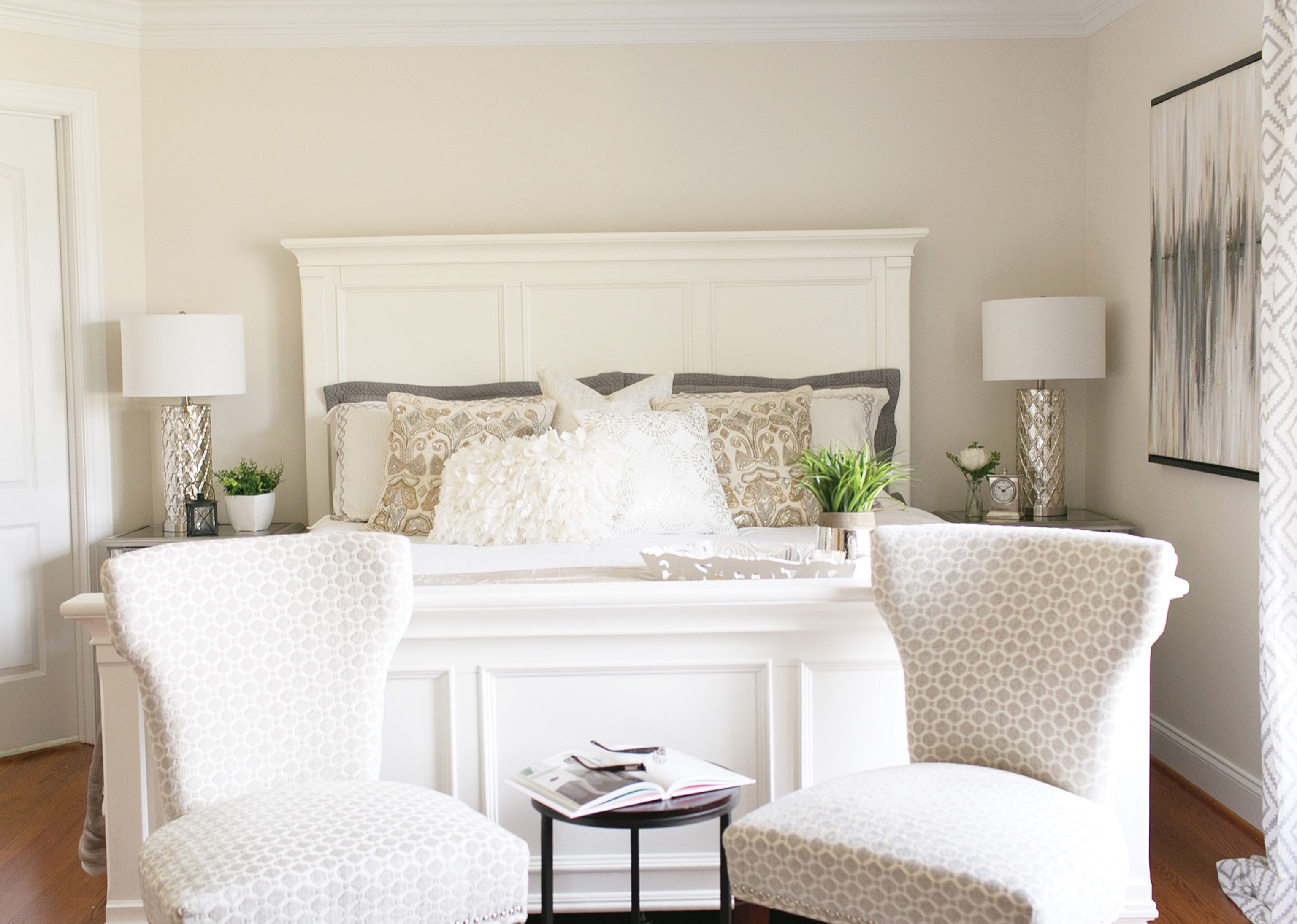 The perfect white central virginia home magazine in our farmhouse renovation i chose this paint color for the entire main level i have also used it in a variety of client spaces including master bedrooms amipublicfo Images