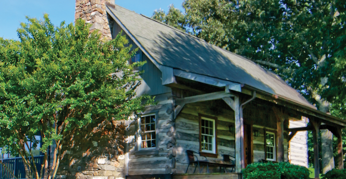 A Welcome Home: One Dream Cabin on the James