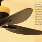 Easy Breezy Ceiling Fans | Keep Your Cool with Style