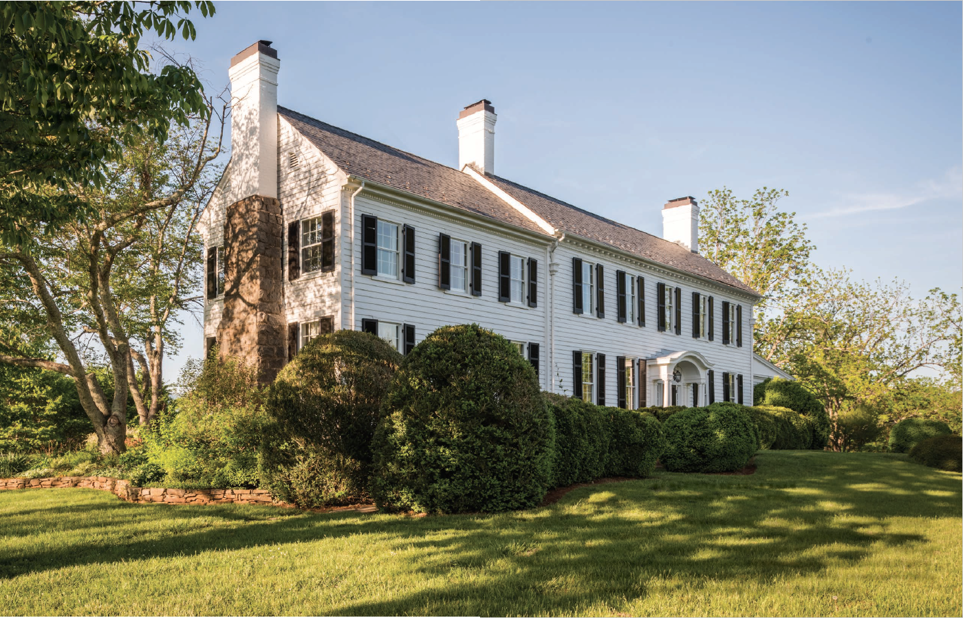 A Colonial Farmhouse, Better with Age | From Big City Bustle to Mountainside Retreat