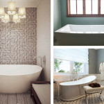 Soak In Style | Freestanding Tubs Offer Sleek Oasis