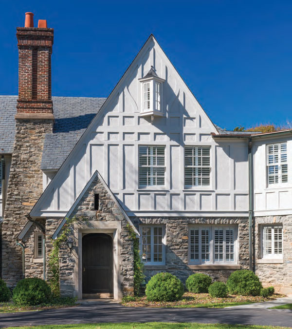 Light and Bright | Marrying Old and New in a Tudor Redo
